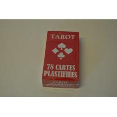 4 JEUX DE TAROT 78 CARTES PLASTIFIÉES
