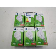 6  AMPOULES LED E14 3W