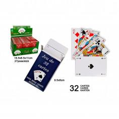 27 JEUX DE 32 CARTES A 0.60€