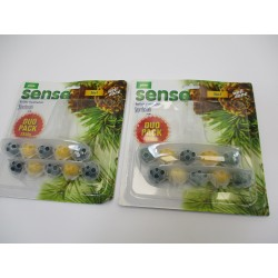2 PACKS 2X50G DESODORISANT PIN