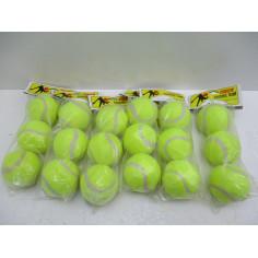6 LOTS DE 3 BALLES DE TENNIS