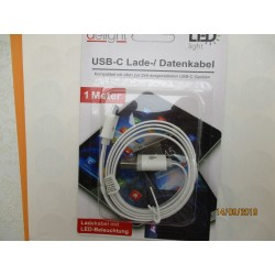 CABLE DE TELEPHONE USB-C COULEUR A LED