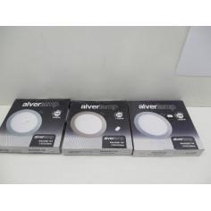 3 lampes led diametre 225xx20 mm