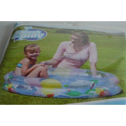 PISCINE 2 BOUDINS GONFLABLE 102 X 20